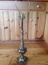 Vintage Stiffel Brass Lamp Hollywood Regency Style