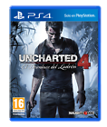 """Juego Sony PS4 """"uncharted 4 Standar Edition"""""""