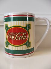 Gibson Coca Cola Coffee Cup Mug Red Green White Yellow China Dinnerware