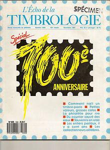 L-039-ECHO-DE-LA-TIMBROLOGIE-SPECIAL-100-ANNIVERSAIRE