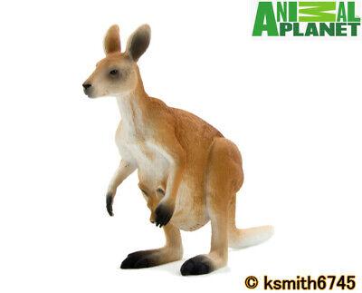 Mojo Animal Planet EMU solid plastic toy wild zoo Australian  bird NEW