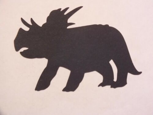 9 ASS BLACK DINOSAURS FANTASY MYTHICAL DIE CUTS  SILHOUETTES