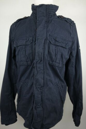 Abercrombie & Fitch Field Jacket Men Size XL Blue - image 1