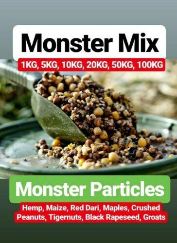 Cooked Spod Mix hemp maize tigernuts maples fishing match carp