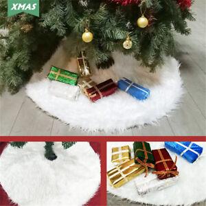 Albero-di-Natale-Base-Morbida-Gonna-Peluche-Tappetino-Copertura-Tappeto