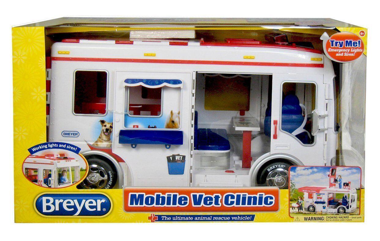Breyer Horses clínica móvil medicina veterinaria Transporte Cavalli 2612 01243