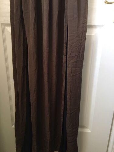 Favori Robe Les Longue Taille Fentes Uk Avec Grise Grec Style blogueurs M Zara 1S7ww