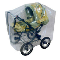 Asmi® Staubhülle Schutz Kinderwagen Shopper Jogger Buggy Folie Aufbewahrung