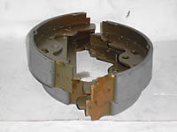Land Rover Freelander Rear Brake Shoes From 1A000001  SFS000030