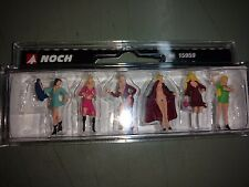 1/87 Noch 36959, 6 Ladies of the Night (Hookers) H0 Scale Figures Pre-Painted