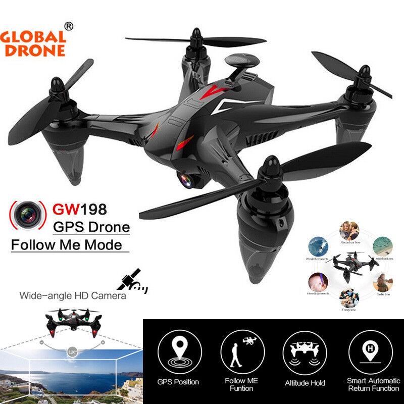 GW198 gran angular HD Cámara 5G Wifi Auto siga sin cepillo del Motor Cuadricóptero Drone