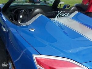 Saturn Sky Windrestrictor Windblocker Windscreen Etched