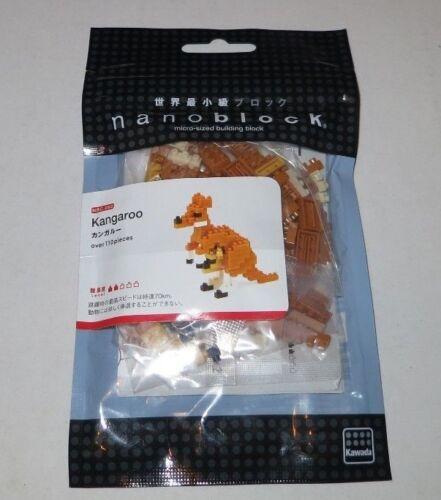 Over 110 Pieces Nano Block Nanoblock ede Kangaroo NBC/_092 NEW