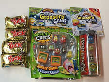 (1)The Grossery Gang season 2 MOLDY CHIPS 10 packs&(4)YUCK BARS& (1) ROTTEN SODA