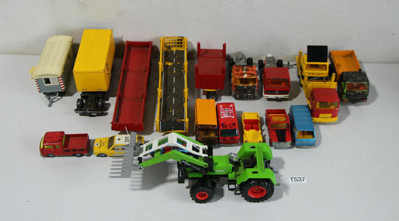 Liasse SIKU véhicules différents âges et état  (t537-r69)  grand choix
