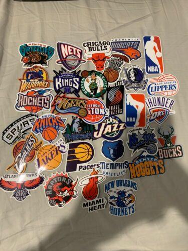 32PCS Basketball League Skateboard Stickers bomb Vinyl Laptop Luggage Decals Lot