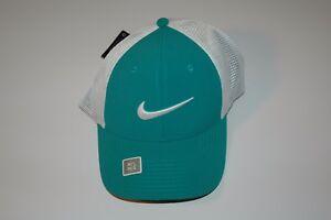 3858ca9ac Details about Nike Golf Legacy 91 Tour Mesh Fitted Golf Hat Cap 727031  Green Sz S/M M/L L/XL