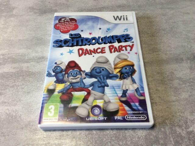 WII Les Schtroumpfs : Dance Party NINTENDO PAL FR COMPLET
