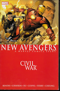 New-Avengers-Vol-5-Civil-War-by-Bendis-Yu-Coipel-amp-more-2007-TPB-Marvel-OOP