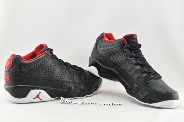 new arrival db0ed 51d17 Air Jordan 9 Retro Low - CHOOSE SIZE - 832822-001 Snakeskin Bred White IX