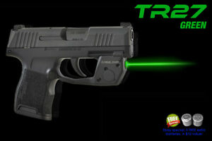 Details about ARMALASER TR27 Green Laser Sight for Sig Sauer P365 & P365 XL  w/ Grip Activation