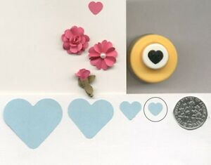 Mini Heart Shape Paper Punch By Punch Bunch Quilling Scrapbook