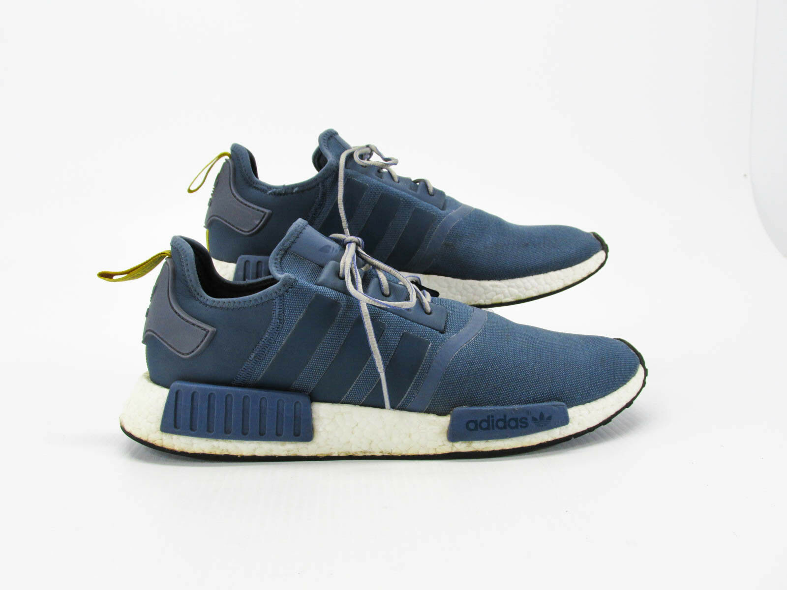 Adidas NMD R1 Boost Men bluee Athletic shoes Size 14.5M Pre Owned CQ