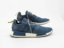 c9a5e9f9fa0f6 Adidas NMD R1 Boost Men Blue Athletic Shoes Size 14.5M Pre Owned CQ