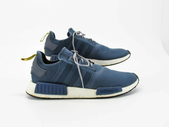 new concept e5488 7cbbe Adidas NMD R1 Boost Men Blue Athletic Shoes Size 14.5M Pre Owned CQ
