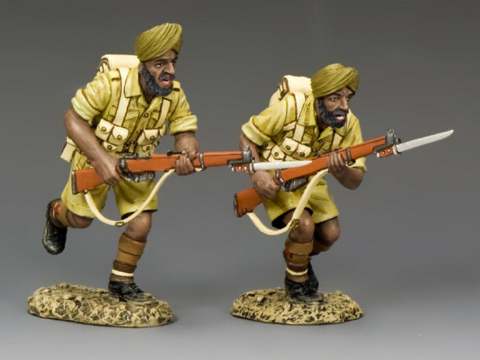 KING AND COUNTRY Sikh's Charge  - Eighth Army EA105