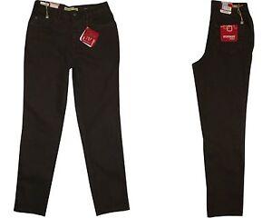 Stooker-Nizza-Damen-Stretch-Jeans-Hose-Dark-Choco-Wash