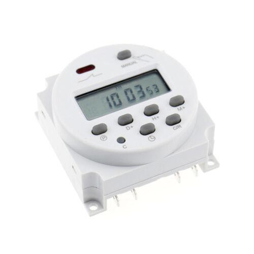 LCD Programmable Timer CN101A AC 220V 16A Digital Time Switch CE