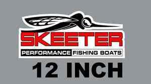 "12/"" Abu Garcia Quality Decal Sticker Tackle Box Lure Fishing Boat Truck trailer"