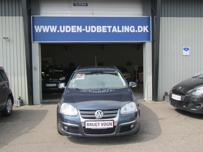 VW Golf V 1,4 TSi 140 Sportline Variant 5d - 69.900 kr.