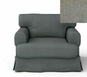 Ikea Hov 197 S Armchair Slipcover Hjulsbro Gray 402 428 70
