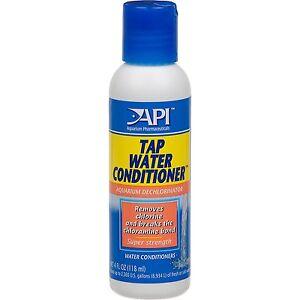 Api Tap Water Conditioner 118ml Dechlorinator For Aquarium