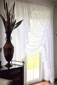 moderne-Rideau-pret-a-poser-en-voile-balcon-NEUF-Conception-TOP-SET-Beau-hg-kora