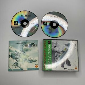 Final Fantasy VII for Sony PlayStation 1 (PS1) - Disc 2 and 3 Case And Manual