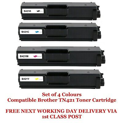 5 Pack 2BK+1C+1Y+1M TN431 Toner Cartridge Replacement for Brother HL-L8260CDW L8360CDW L8360CDWT L9310CDWT L9310CDWTT DCP-L8410CDW MFC-L8610CDW L8900CDW L9570CDWT L9570CDW Printers Toner Cartridge