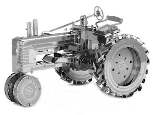 Fascinations-Metal-Earth-Metal-3D-Laser-Cut-Steel-Puzzle-Model-Kit-Farm-Tractor