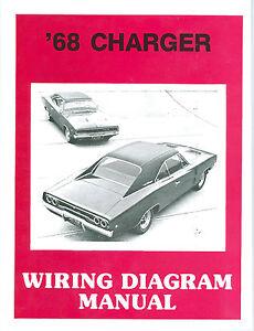 Remarkable 1968 68 Dodge Charger Rt Wiring Manual Ebay Wiring Digital Resources Honesemecshebarightsorg