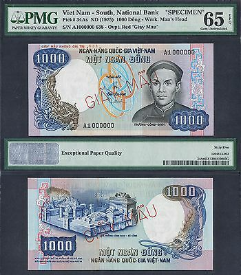 Replyca 500 dong 1966 Tran Hung Dao Gerneral specimen South Vietnam