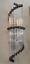 Ancien-Old-Art-Deco-Skyscraper-Laiton-amp-Glass-Rod-Lumiere-Appliques-murale-Lampe miniature 1
