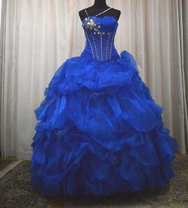 76e86df3e2e NEW Princess by Mary s Sweet 16 Prom Quinceanera Dress 4Q973 Royal ...