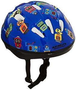 USA-Helmet-V-6-Toddler-Bicycle-Helmet-Blue-with-Robots