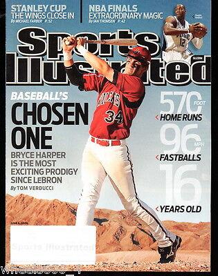 {3} Sports Illustrated 2009 2013 2015 Washington Nationals Bryce Harper Lot NR/M