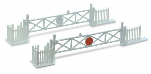 N gauge Peco NB-50 Free Post F1 N level crossing gates x4