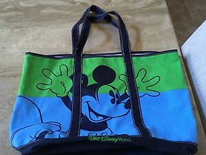 Disney-Mickey-Mouse-Bag-Large-Tote-Authentic-Bag