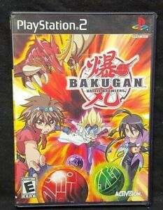 Bakugan Battle Brawlers - PS2 Playstation 2 Game Tested Working