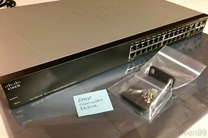 Cisco-SG300-28-Layer-3-Managed-Gigabit-Switch-28-ports-24-4-2-SFP-WebUI